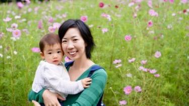 英会話ビギン代表の加藤もママとして育児に奮闘中です。