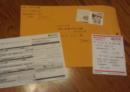 海外の郵便局での英会話|切手を買う/不在票が入っていた時は?|海外赴任の英会話