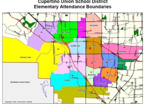 小学生連れでカリフォルニア州/クパチーノ駐在。現地校のリサーチ法や入学手続きについて