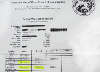 海外駐在中の子供の予防接種!予約をするときの英会話