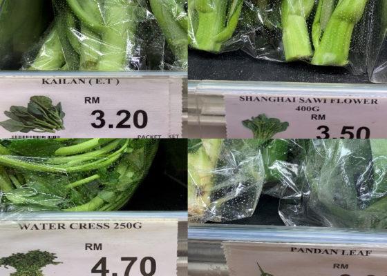マレーシアのスーパーには葉物野菜が豊富!英語の意味とおすすめの使い方