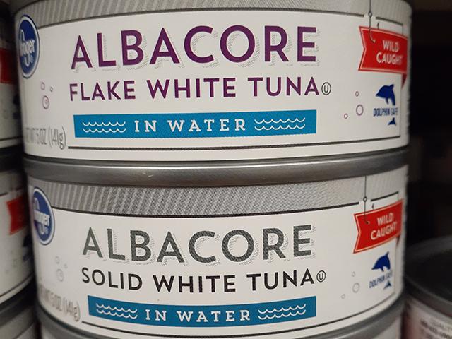 ツナ缶に使われている魚は3種類
