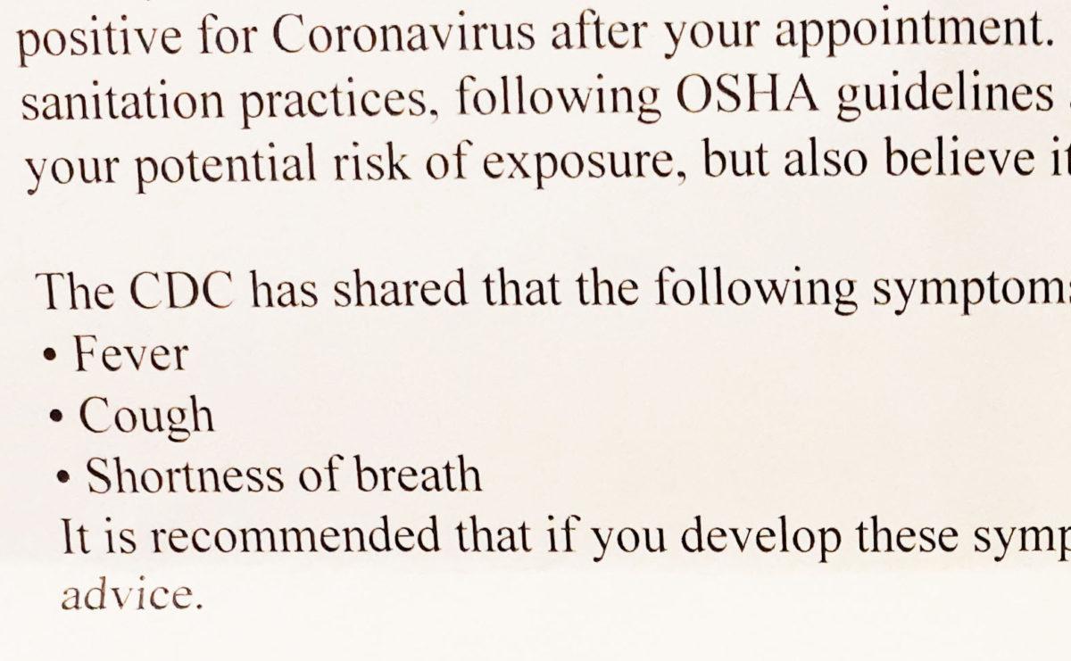 コロナウィルス禍の英会話