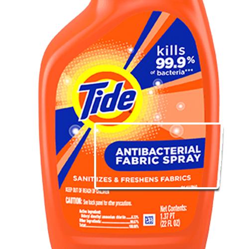 anti-bacterial fabric spray