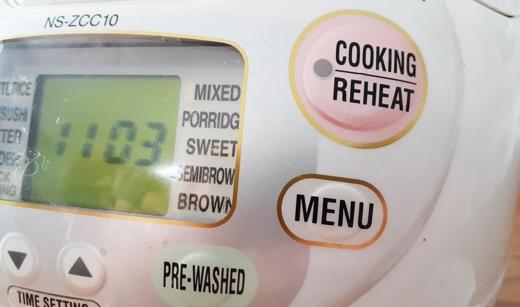 炊飯器の英語表記