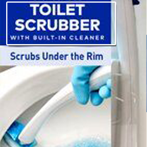 toilet scrubber