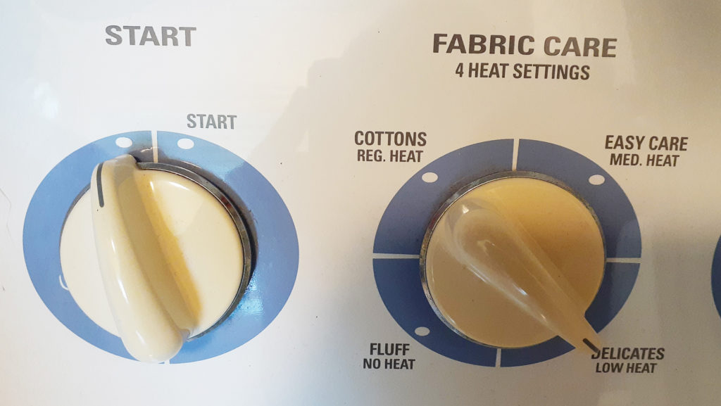 アメリカの乾燥機