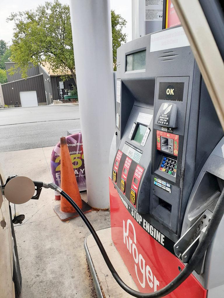 アメリカでの給油(1)