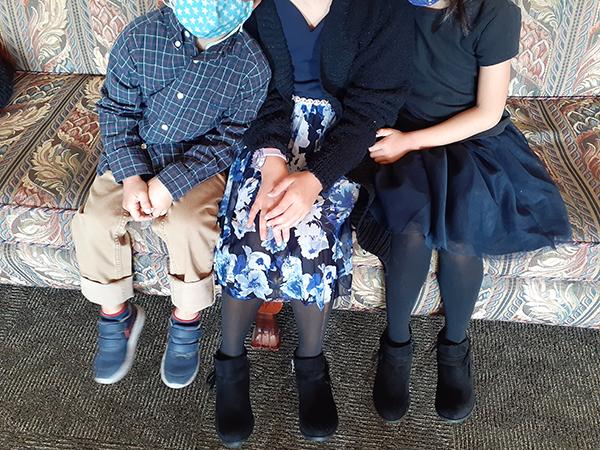 アメリカお葬式子供たちの服装例