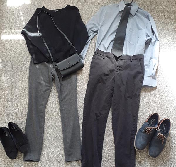アメリカお葬式大人の服装例