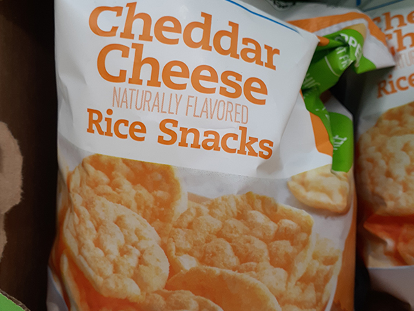 Rice snacks