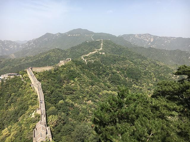 北京の万里の長城