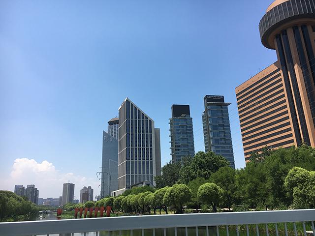 北京市のビジネス街
