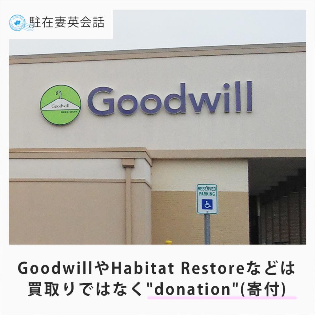リサイクル/寄付のお店