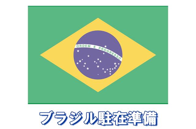 ブラジル駐在準備